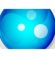 Sphere abstract background vector