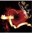 Cupid heart vector