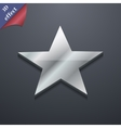 Star icon symbol 3d style trendy modern design vector