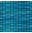 Style seamless knitted melange pattern blue vector