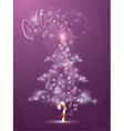 Fir tree light 380 vector