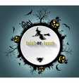 Abstract halloween background vector