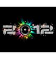 2012 new year vector