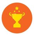 Winner badgechampions cup celebration greeting vector