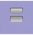 Set of buttons web element vector