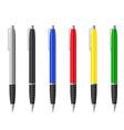 Fountain pen 01 vector