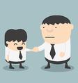 Businessman shaking hands vector