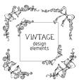 Vintage angles designs vector
