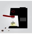 Espresso machine eps10 vector