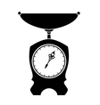 Old style scales vector