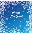 Postcard happy new year vector