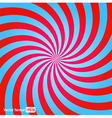 Stripes red blue circle square abstract vector