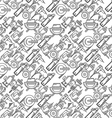 Seamless background for construction tools vector