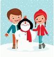 Winter fun vector