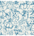 Flower thai sketch vector