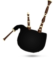 Biniou koz - traditional french bagpipe vector