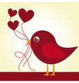 Love bird vector