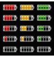 Energy bar battery level vector