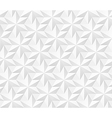 Seamless pattern - hexagonal stars background vector