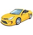 Convertible car vector