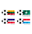 Soccer ball of lithuania macao los altos vector