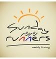 Runners logo vector
