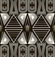 Seamless antique pattern ornament geometric vector
