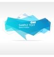 Blue speech template vector