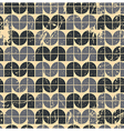 Black ornamental worn textile geometric seamless vector