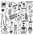 Robots - set icons vector