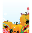 Fabulous pumpkins vector
