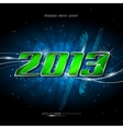 Banner happy new year 2013 vector