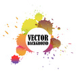 Abstract watercolor stained background vector