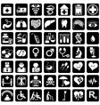 Icons for medicine vector