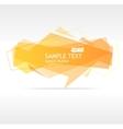 Orange speech template vector