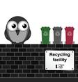 Recycling facility vector