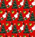 Seamless christmas pattern - vector