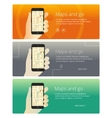 Concepts web banners and promotional materials for vector