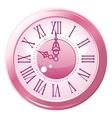 Retro style clock vector