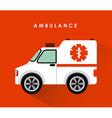 Ambulance design vector