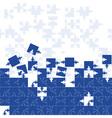 Business seamless gorizontal background friendship vector