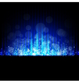 Winter abstract iced blue background vector
