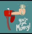 You have got money vector