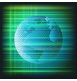 Business earth background vector