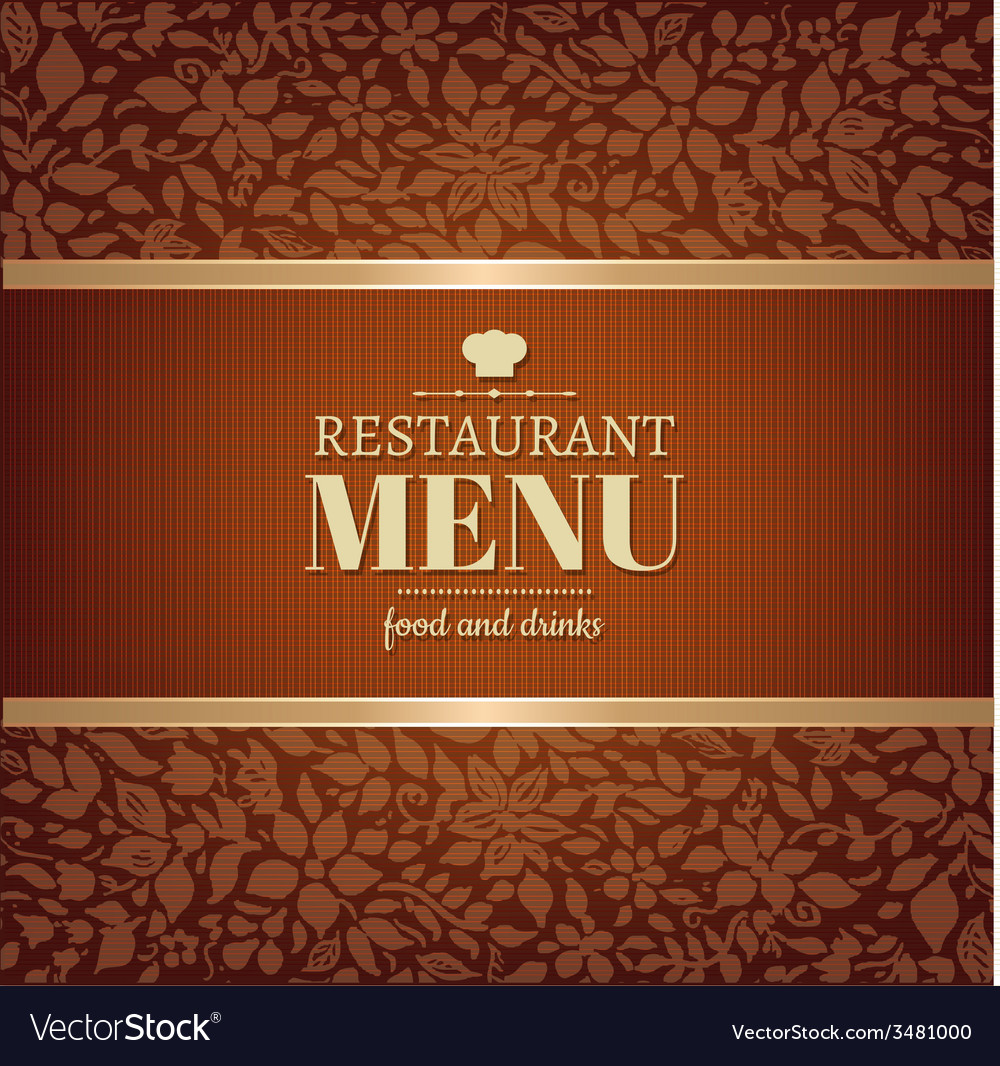 Cafe and restaurant menu vector | Price: 1 Credit (USD $1)