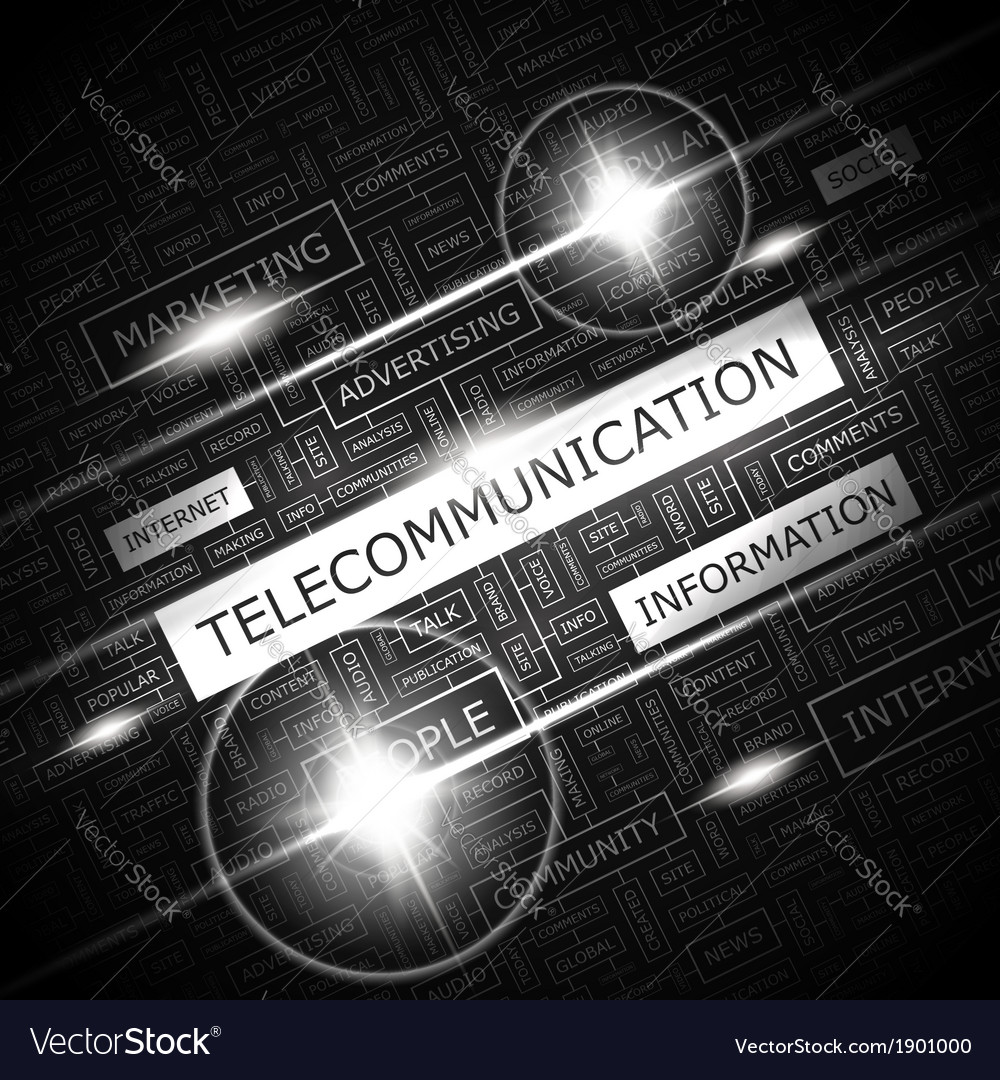 Telecommunication vector | Price: 1 Credit (USD $1)