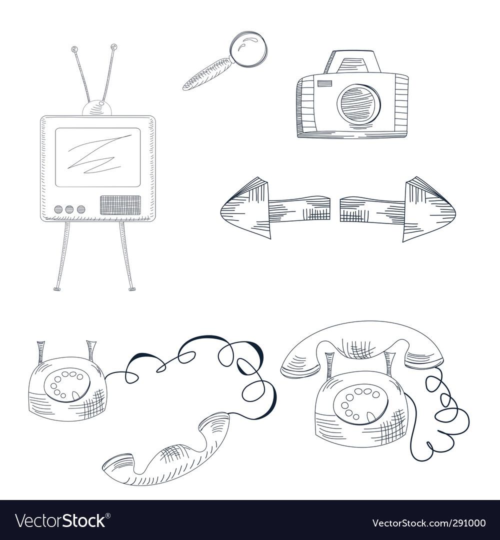Web icon vector | Price: 1 Credit (USD $1)