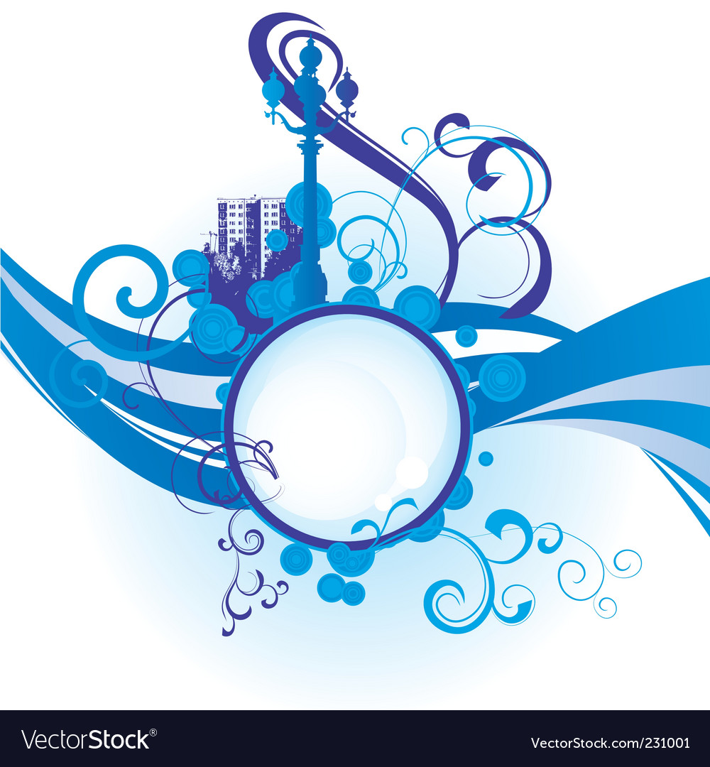 City waves image vector   Price: 1 Credit (USD $1)