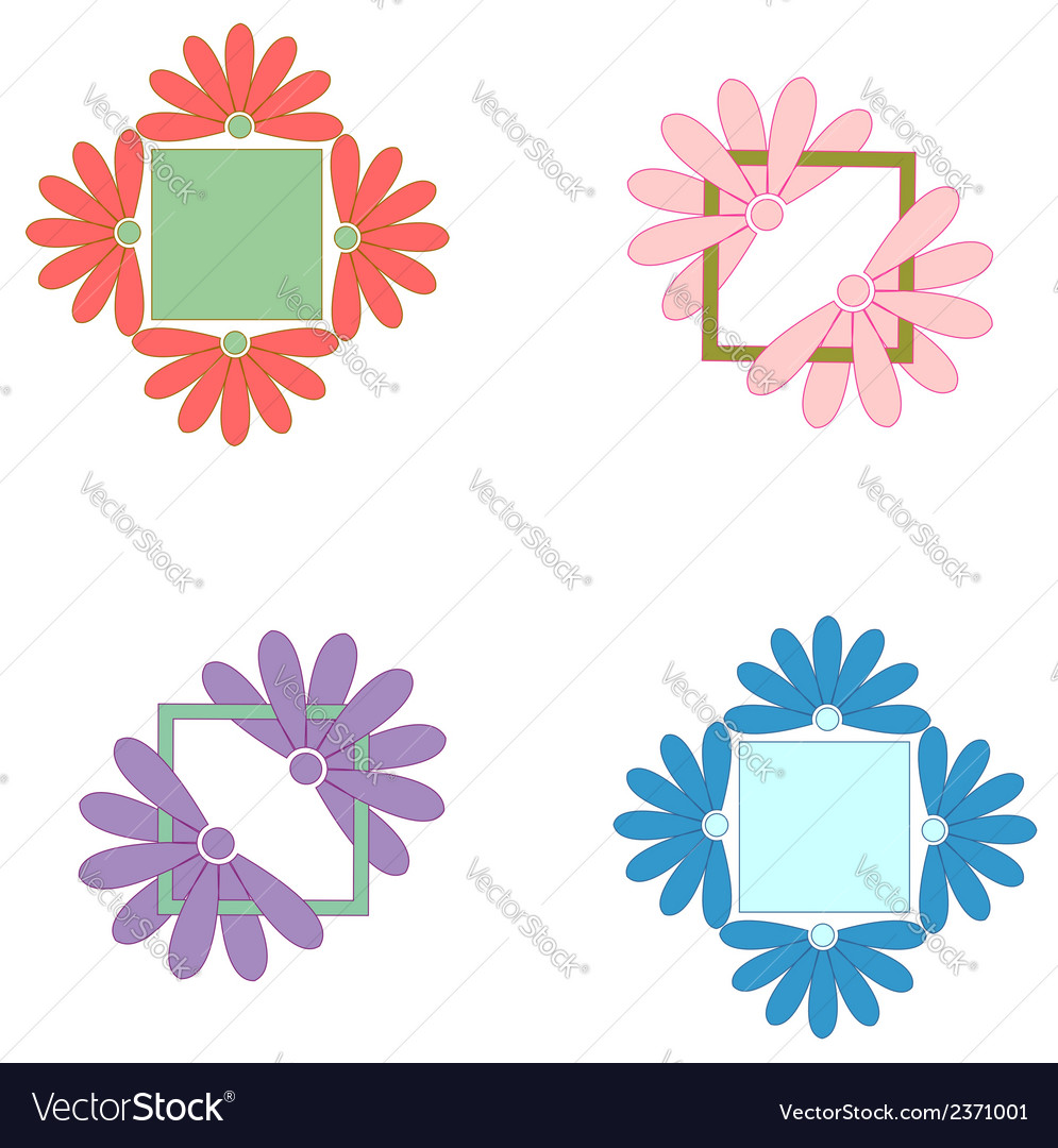 Element ornament pattern  frame vector | Price: 1 Credit (USD $1)
