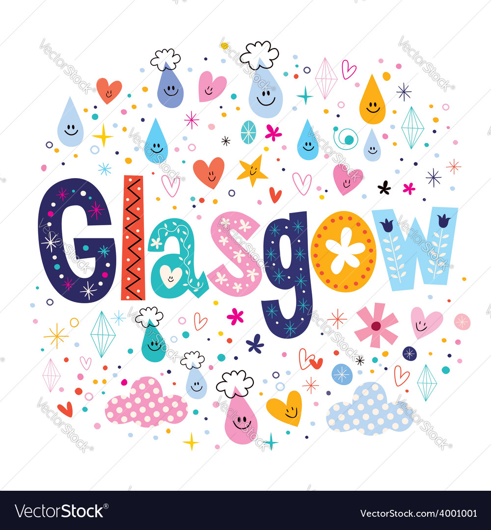 Glasgow vector | Price: 1 Credit (USD $1)